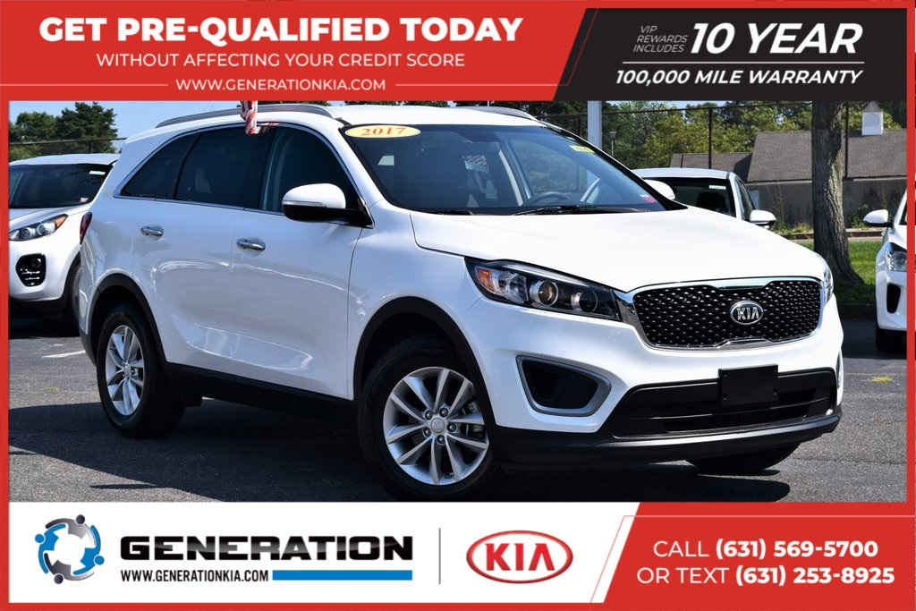 Kia Certified Pre-Owned >> Certified Pre Owned 2017 Kia Sorento Lx Fwd 4d Sport Utility