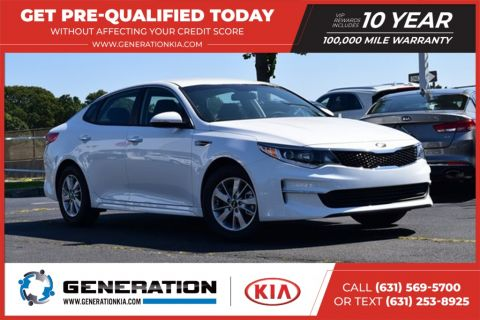 New 2018 Kia Optima LX